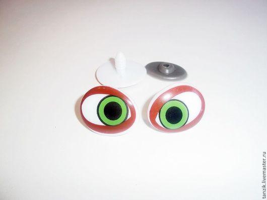 Куклы и игрушки ручной работы. Ярмарка Мастеров - ручная работа. Купить Глазки цветные для игрушек.. Handmade. Глазки для игрушек, Глаза