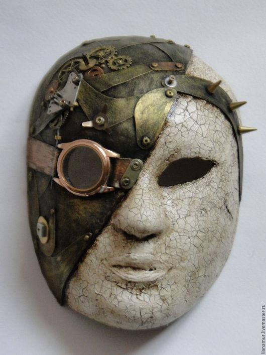 Интерьерные  маски ручной работы. Ярмарка Мастеров - ручная работа. Купить Маска №1. Handmade. Комбинированный, стимпанк стиль