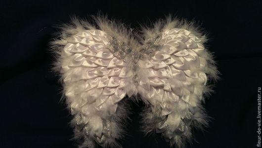 Карнавальные костюмы ручной работы. Ярмарка Мастеров - ручная работа. Купить Крылья для ангелочка. Handmade. Белый, подарок на новый год, Праздник