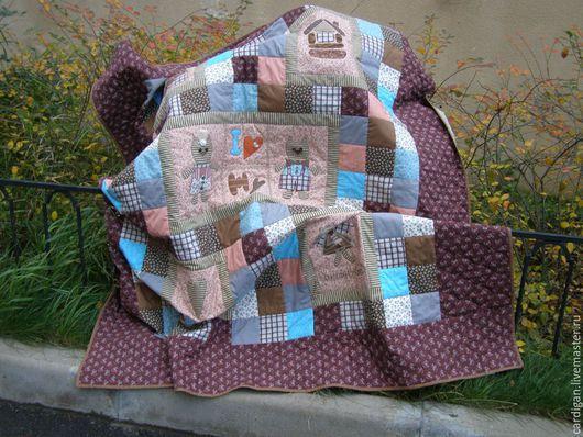 """Текстиль, ковры ручной работы. Ярмарка Мастеров - ручная работа. Купить """"Медовый месяц"""" (лоскутный комплект). Handmade. Patchwork, Аппликация"""