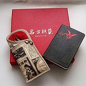 Аксессуары handmade. Livemaster - original item DIARY of a GEISHA - the case of textile. Handmade.
