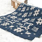 Для дома и интерьера ручной работы. Ярмарка Мастеров - ручная работа Лоскутное покрывало. Япония-2. Handmade.