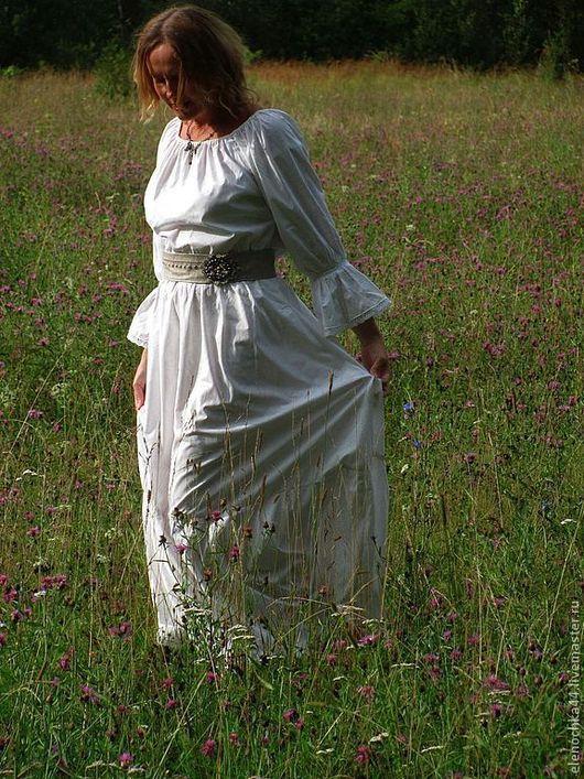 """Платья ручной работы. Ярмарка Мастеров - ручная работа. Купить Длинное платье """"После дождя"""". Handmade. Пейсли, красивое платье"""