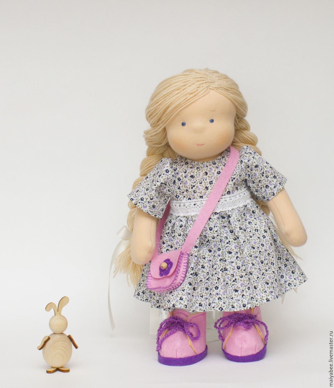 Handmade doll, Waldorf Dolls & Animals, Moscow,  Фото №1