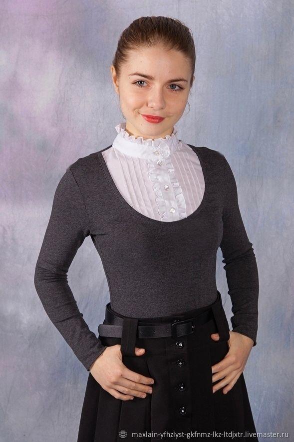 блузка школьная для девочки подростка купить спб