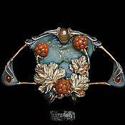 Украшения ручной работы. Ярмарка Мастеров - ручная работа La chicoute. Ensoleille ambre. Handmade.