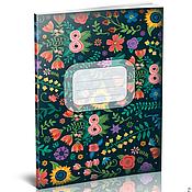 Материалы для творчества ручной работы. Ярмарка Мастеров - ручная работа 30 макетов для печати тетрадей. Handmade.