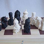 Куклы и игрушки handmade. Livemaster - original item Chess handmade. Handmade.