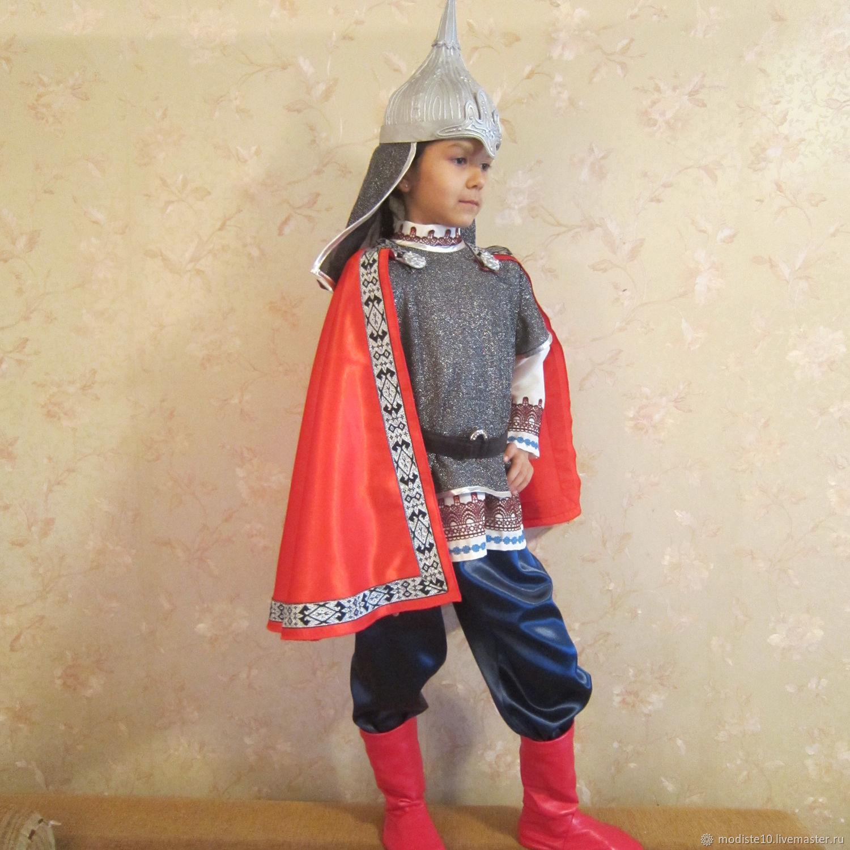 Как сделать костюм богатыря на новый год фото 135