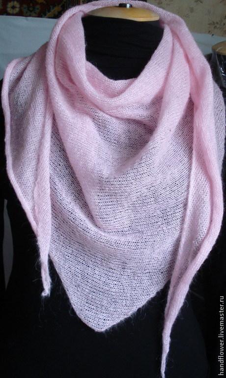 """Шарфы и шарфики ручной работы. Ярмарка Мастеров - ручная работа. Купить Снуд-платок """". Handmade. Однотонный, снуд вязаный"""