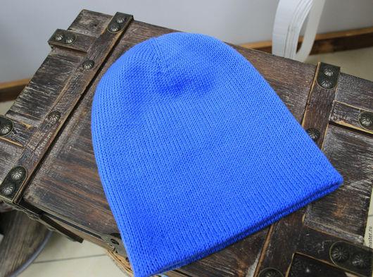 Шапки ручной работы. Ярмарка Мастеров - ручная работа. Купить Шапка носок голубая. Handmade. Голубой, шапка бини