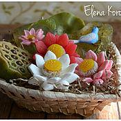 """Косметика ручной работы. Ярмарка Мастеров - ручная работа """"Лотос--символ жизни и счастья! 7 Набор мыла ручной работы. Handmade."""