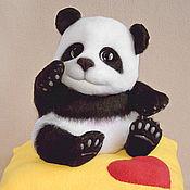 Куклы и игрушки ручной работы. Ярмарка Мастеров - ручная работа Панда Юн (игрушка мишка). Handmade.