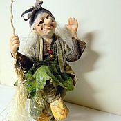 """Куклы и игрушки ручной работы. Ярмарка Мастеров - ручная работа Куколка """" Яга -привет !"""". Handmade."""