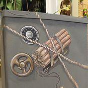 """Дизайн и реклама ручной работы. Ярмарка Мастеров - ручная работа Роспись холодильника """"Сейф"""". Handmade."""