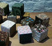Куклы и игрушки ручной работы. Ярмарка Мастеров - ручная работа Кубики лоскутные. Handmade.