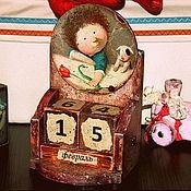 Канцелярские товары ручной работы. Ярмарка Мастеров - ручная работа Крошка моя. Вечный календарь в детскую.. Handmade.