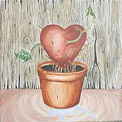 Картины и панно ручной работы. Ярмарка Мастеров - ручная работа Мое сердце. Handmade.