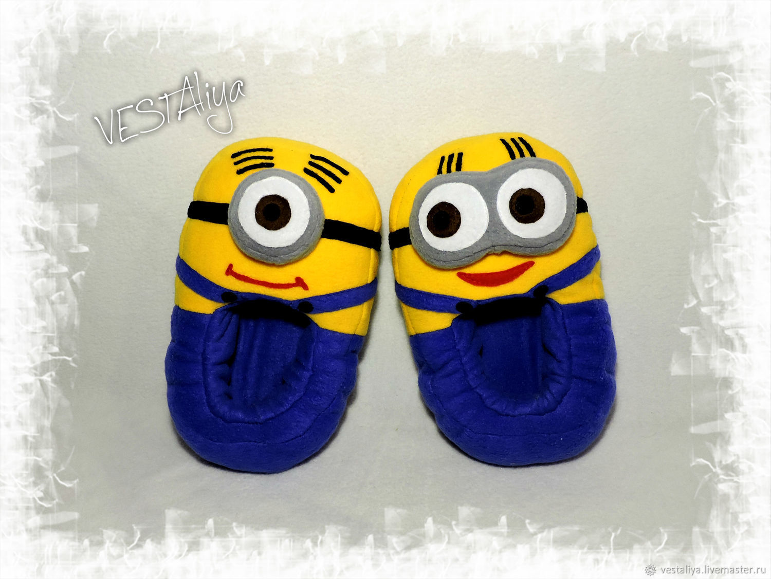 Slippers-toys Minions, Slippers, Novosibirsk,  Фото №1