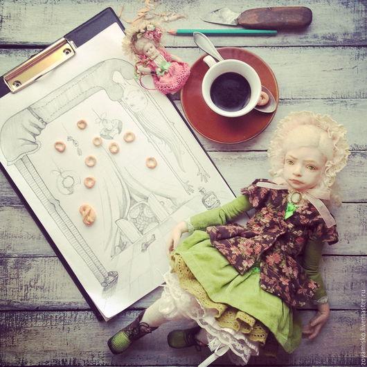Коллекционные куклы ручной работы. Ярмарка Мастеров - ручная работа. Купить Anna Braun.  Авторская коллекционная уникальная реалистичная кукла. Handmade.
