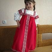 """Купить Костюм """"Аленушка"""" - сарафан, народный костюм, народный стиль, карнавальный костюм, русский стиль"""