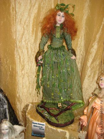 """Куколка сделана из пластика""""фимо"""",продана в2012г."""
