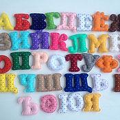 Мягкие игрушки ручной работы. Ярмарка Мастеров - ручная работа Алфавит из фетра.. Handmade.