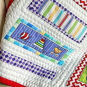 """Для дома и интерьера ручной работы. Ярмарка Мастеров - ручная работа Детское лоскутное одеяло """"Веселый малыш"""". Handmade."""