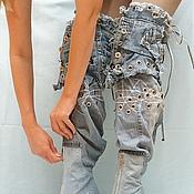 Обувь ручной работы. Ярмарка Мастеров - ручная работа Ботфорты-трансформеры на шпильке. Handmade.