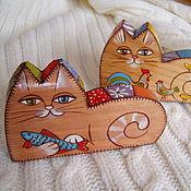 Куклы и игрушки ручной работы. Ярмарка Мастеров - ручная работа Коты и лоскуты. Handmade.