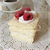 """Косметика ручной работы. Ярмарка Мастеров - ручная работа """"Кусочек торта Наполеон"""", мыло ручной работы. Handmade."""