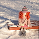 Коллекционные куклы ручной работы. Заказать Рыжая девчонка с муфточкой. Вера Шипкова. Ярмарка Мастеров. Рыжие кудри, одежда для куклы