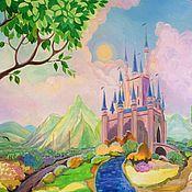 Для дома и интерьера ручной работы. Ярмарка Мастеров - ручная работа Замок принцессы. Handmade.