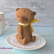 Куклы и игрушки ручной работы. Ярмарка Мастеров - ручная работа Мишка тедди Лелик. Handmade.