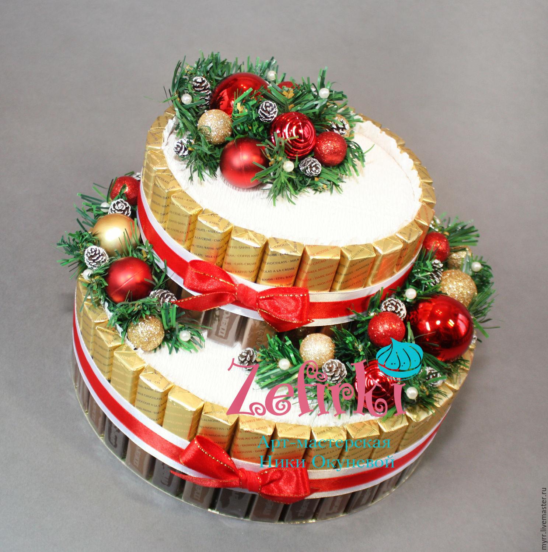 Как украсить торт на Новый 2018 год