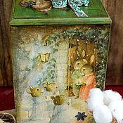 Для дома и интерьера ручной работы. Ярмарка Мастеров - ручная работа Очень старая сказка, рассказанная Белым Кроликом в канун Рождества. Handmade.