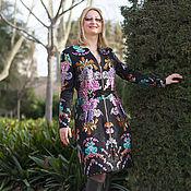 """Одежда ручной работы. Ярмарка Мастеров - ручная работа Платье-пальто """"Валенсия"""". Handmade."""