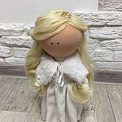 Куклы и игрушки ручной работы. Ярмарка Мастеров - ручная работа Текстильная портретная кукла.. Handmade.
