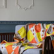 Одеяла ручной работы. Ярмарка Мастеров - ручная работа Детское лоскутное одеяло. Handmade.