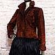 Верхняя одежда ручной работы. Ярмарка Мастеров - ручная работа. Купить Пальто из каракуля swakara и меха яка. Handmade. Мех