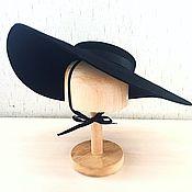 Аксессуары ручной работы. Ярмарка Мастеров - ручная работа Винтажная шляпа с широкими полями. Handmade.