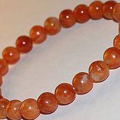Украшения handmade. Livemaster - original item Copy of Natural calcite-simbirzite-Irish spar bracelet. Handmade.