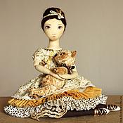 Куклы и игрушки ручной работы. Ярмарка Мастеров - ручная работа Елизавета - авторская текстильная кукла. Handmade.