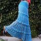 Юбки ручной работы. ажурная вязаная юбка в пол, юбка крючком,. Ирина Мажуга (Мультан) (MIRA060609). Ярмарка Мастеров. Рисунок