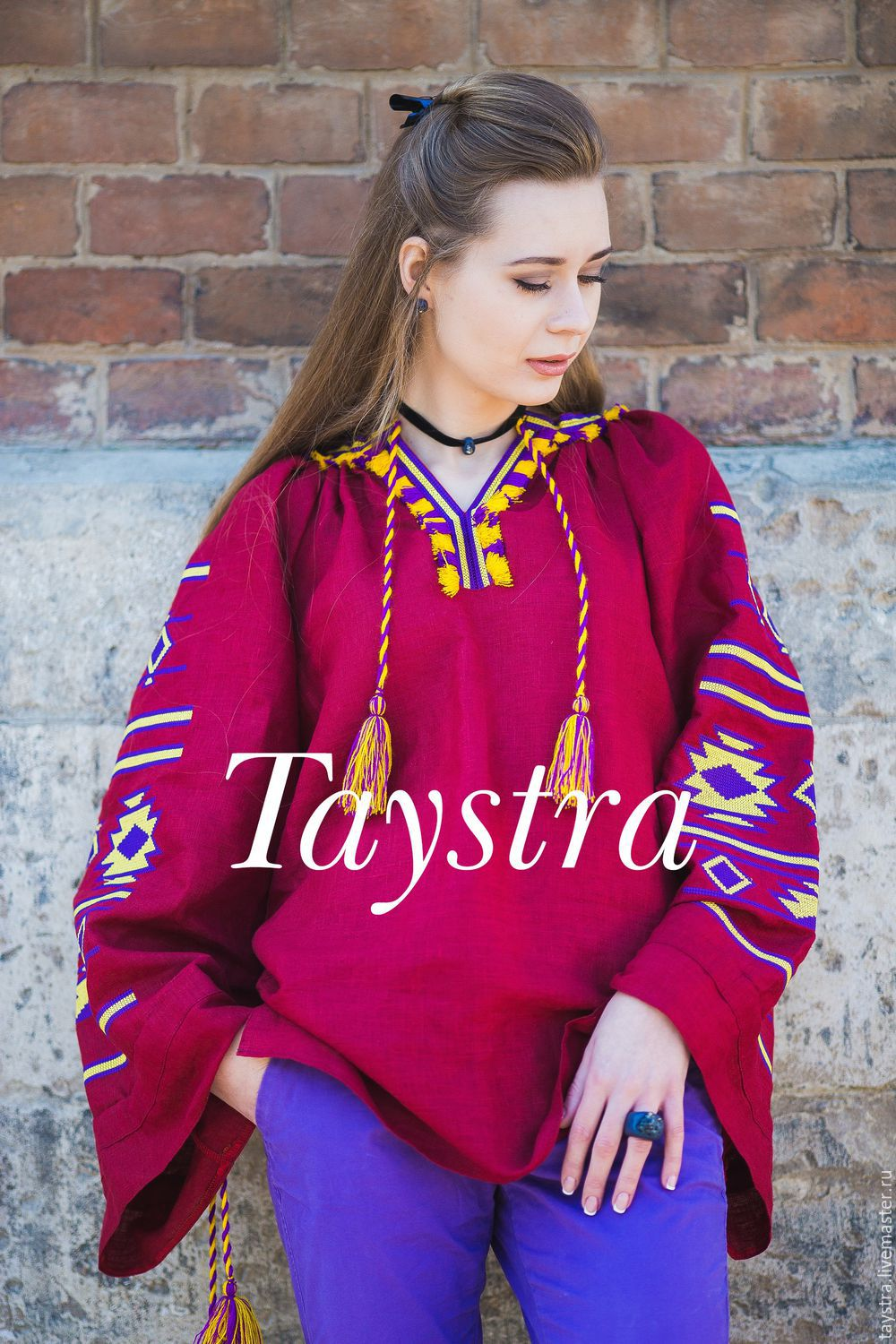 Blouse Boho embroidered women, ethnic style, the Bohemia, Blouses, Chernovtsy,  Фото №1