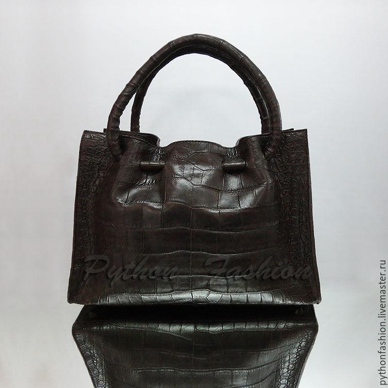 40b3456344de Сумка из кожи крокодила. Дизайнерская сумка из кожи крокодила. Авторская  сумка из крокодила.