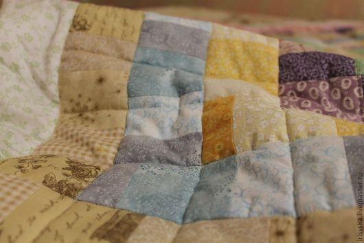 Пледы и одеяла ручной работы. Ярмарка Мастеров - ручная работа. Купить Любопытный Зая. Handmade. Детское, текстиль для дома, зайка
