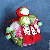 """Куклы и игрушки ручной работы. Ярмарка Мастеров - ручная работа Народная кукла """"Кубышка-травница"""" с полевыми травами. Handmade."""