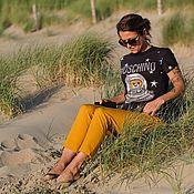 Одежда handmade. Livemaster - original item T-shirt from Moschino footer. Handmade.