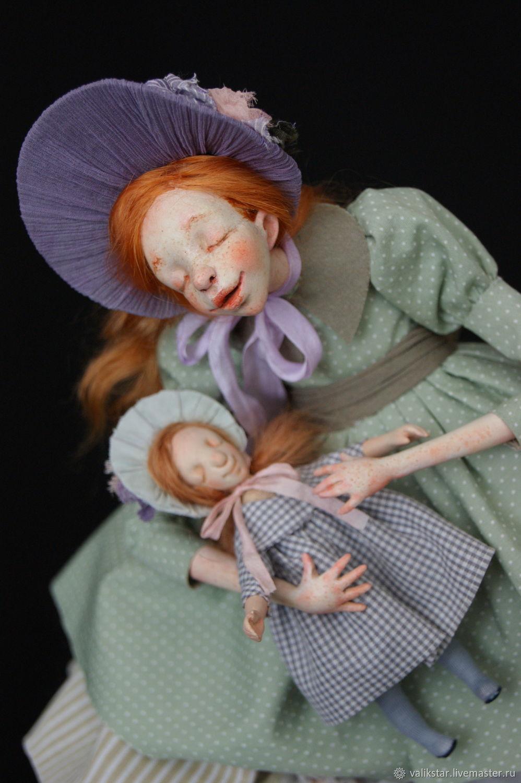 Колыбельная, Будуарная кукла, Москва,  Фото №1